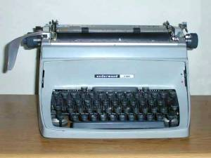 wikipedia underwood typewriter
