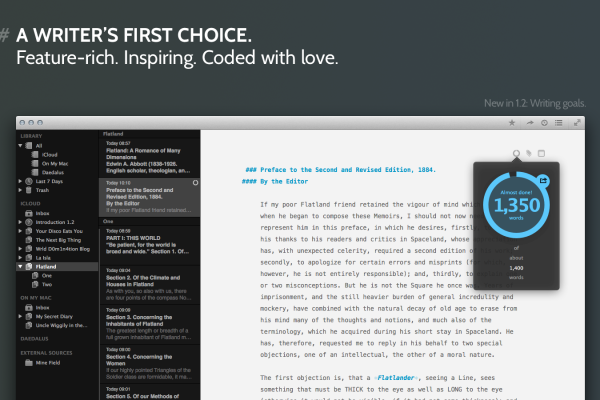 The Productive Author App of the Week: Ulysses for Mac – The