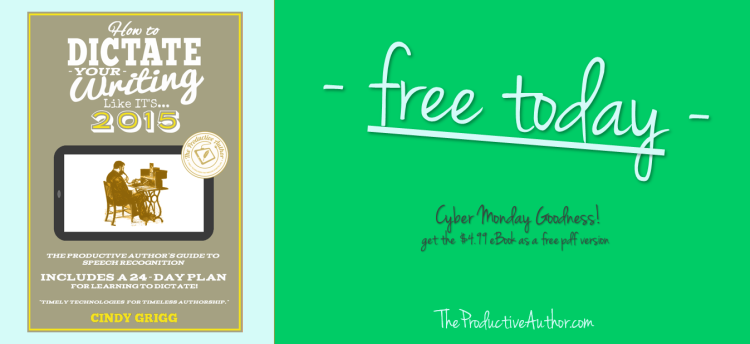 Cyber Monday Promotion for Writers and Authors