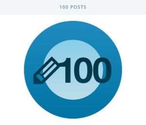100 Posts on WordPress