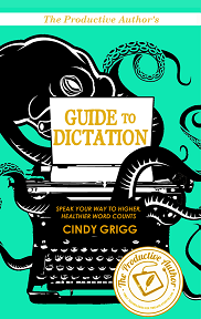 The Productive Authors Guide to Dictation Front Cover Blog 2